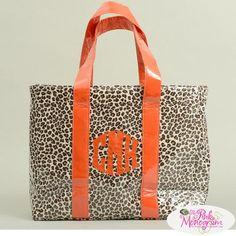 Monogrammed Custom Ziptop Shoulder Bag  Apparel & Accessories > Handbags > Tote Handbags