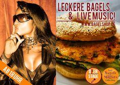Get on Stage, if you dare :-) Leckere #Bagels & #LiveMusic im #bagelshop heute ab 18 Uhr !  #OpenStage im Fresh Bagels & Muffins www.bagelshop.de