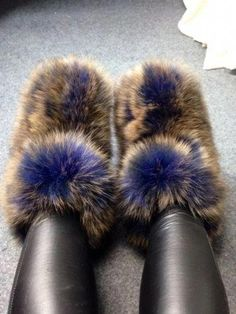 Fashion Furry Eskimo Womens Winter Big Fluffy Boots Fox Fur Luxury 8 Color Boots in Clothing, Shoes & Accessories, Women's Shoes, Boots Fuzzy Boots, Cute Boots, Faux Fur Boots, Ugly Shoes, Fab Shoes, Dream Shoes, Women's Shoes, Multi Coloured Boots, Nylons