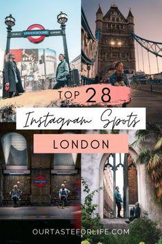 28 London Instagram Spots - London Photo Spots - Our Taste For Life