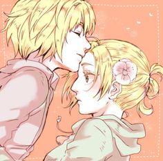 Armin x Annie - SNK