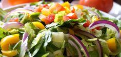 Festivo y natural #ensaladas #ensalada #navidad #añonuevo #receta