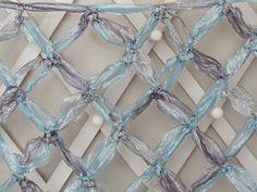 "One of the very few stitch patterns that really shows off Louisa Harding Sari Ribbon ""yarn"" -- Ravelry: gluud2myknitting's Ribbon Shawl"