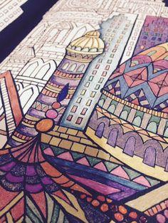 Coloring Books Architecture