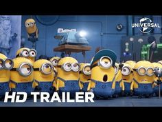 Despicable Me 3 - Official Trailer 2 (Universal Pictures) HD Steve Carell, Trailer 2, Official Trailer, Movie Trailers, Miranda Cosgrove, Minions, Hollywood Movie Trailer, Trailer Oficial, Outlander Season 3