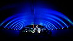 Tunnel of light. Lake Compounce, CT.  Photographer: Dan Villeneuve