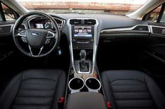 2016 Ford Fusion Hybrid Interior Picture