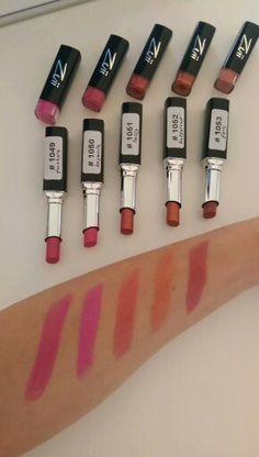 Zuii Organic Sheerlips Lipsticks