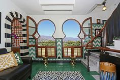 Great windows at the Ablitt house