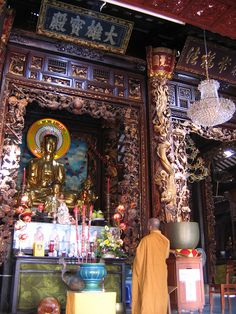 Buddhist Temple, Vietnam