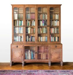 An impressive Arts and Crafts oak bookcase • Gildings Auctioneers