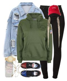 19:33 by mcmlxxi on Polyvore featuring Topshop, 7 For All Mankind, MICHAEL Michael Kors and NIKE