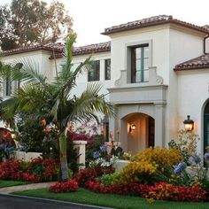 Spanish Red Roof Tile Exterior Design Ideas, Pictures, Remodel and Decor