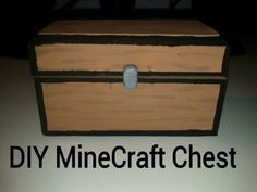 This is a perfect craft for all you Minecraft lovers out there. I got this idea from iHasCupquake and decided to re-create it. This is a very cheap project t. Minecraft Box, Minecraft Gifts, Minecraft Decorations, Boy Room, Kids Room, Gabriel, Minecraft Bedroom, Minecraft Birthday Party, Valentines For Boys