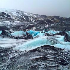 Solheimajokull Glacier, #Iceland