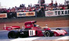 Le même Peterson mais cette fois en F1 avec la March en 1972...