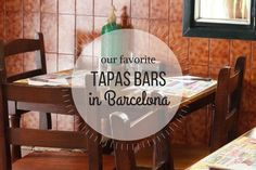 Looking for stellar tapas bars in Barcelona? Here's a roundup of our favorite spots around the city to enjoy the most authentic and delicious tapas around!