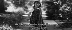 And the cycle starts all over again. | 21 Signs You're Suffering From A Book Hangover  #the books gave matilda a comforting message: you are not alone