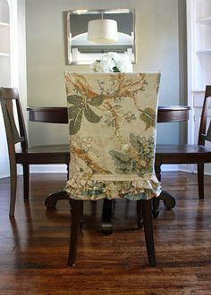Snazzy Dining Chair Slipcover Styles