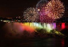 Niagara Falls Illumination and Fireworks | Niagara Falls Fireworks and Illumination