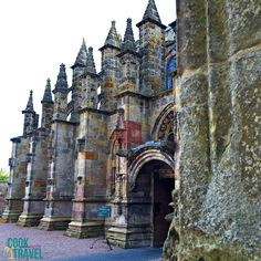 Rosslyn Chapel is a special place steeped in history and was built right in 1446 ... before Columbus found America! So cool!