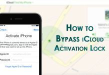 How to Bypass iCloud Activation Lock on iPhone and iPad in iOS 10/9/8/7