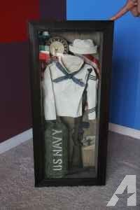 US NAVY shadow box - very cool - (137th and F ST) for Sale in Omaha, Nebraska Classified | AmericanListed.com