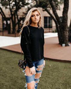 30e836d9fe1 alma boutique ~ Products ~ Black Button Sweatshirt ~ Shopify Black Button