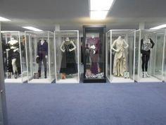 Selena outfits displayed in her museum  in Corpus Christi, TX