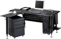 het bureau dat in de slaapkamer ligt