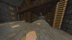 Warehouse-like storage room Minecraft Storage, How To Play Minecraft, Minecraft Stuff, Minecraft Ideas, Survival Mode, Minecraft Designs, Stay At Home Mom, Disney Infinity, Sandbox