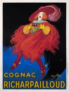 Jean d'Ylen poster: Cognac Richarpailloud