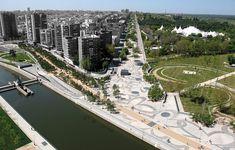 Madrid Rio wins American Architecture Prize in the Public Landscape Architecture category -