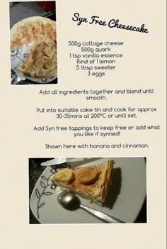 Syn free cheesecake recipe Slimming World