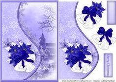 Christmas Bells Teardrop Side Panel Card