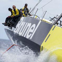 Team Brunel - In the volvo ocean race - Race Volvo Ocean Race, Teamwork, Boating, Sailing, Ships, America, Sea, Vacation, World