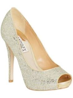 """Just like the Jimmy Choo """"Crown"""" pump I'm lusting after, but $500 cheaper!  (Only $200 on Piperlime)"""