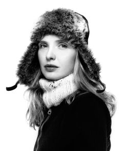 Julie Delpy (1969) - French-American actress, director, screenwriter, and singer-songwriter. Photo by Platon