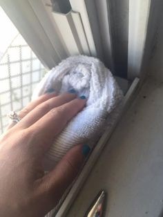 Tired of looking at grimy window tracks? This simple trick will have your window tracks clean in no time at all, and doesn't use any harmful chemicals. Household Cleaning Tips, Cleaning Day, Cleaning Hacks, Cleaning Supplies, Cleaning Items, Cleaning Recipes, Bathroom Cleaning, Spring Cleaning, Diy Cleaners