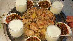Maklube (BİREBİR ÖLÇÜLÜ TAM TUTAN TARİF) - YouTube Rice Pasta, Glass Of Milk, French Toast, Iftar, Breakfast, Food, Youtube, Herbs, World Cuisine