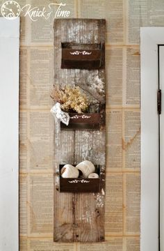 Knick of Time | Farmhouse Friday – Baskets and Bins | http://knickoftime.net