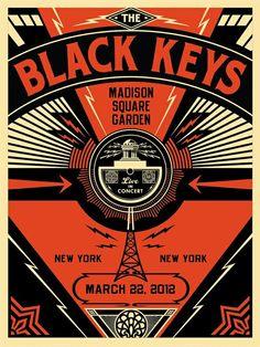 Another great Black Keys gig poster http://flyerlizard.com/wp-content/uploads/2012/04/black-keys-poster.jpg