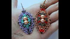 Perfect Two Beaded Earrings - Beading Tutorial