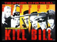 The characters of Kill Bill the first movie