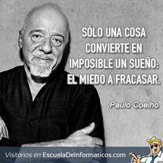 Paulo Coelho #motivación #tecnología
