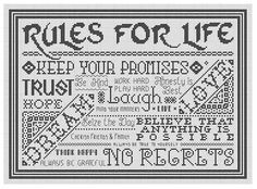 STITCH VIEW - Rules For Life