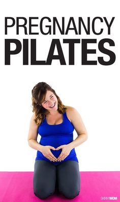 Get in shape during your pregnancy with our pilates workout!