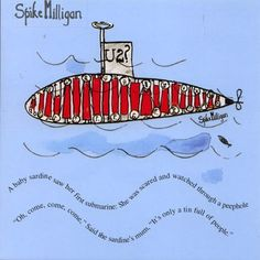 Spike Milligan - Sardines (175466) OUT OF STOCK Spike Milligan Quotes, Poem Quotes, Funny Quotes, Nonsense Poems, Old Birthday Cards, 40th Birthday, Shape Poems, Poetry For Kids, Poem A Day