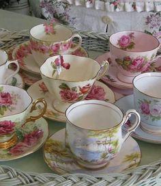 Tazas para el té.