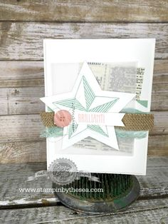 Be Inspired- Stampin' Up! Convention - SU - Be the Star (by Kimberly van Diepan)